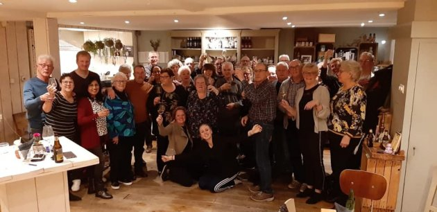 Mooi afscheid van Het Nationaal Ouderenfonds/Stichting Seniorenplezier